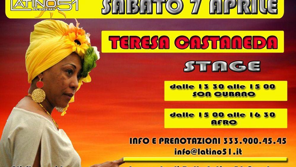 Stage Teresa Castaneda 7 Aprile Latino51 Bologna